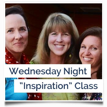 "Wednesday Night ""Inspiration"" Class"